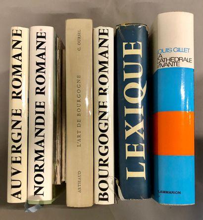 ART ARCHITECTURE, dont 8 vols de la collection...