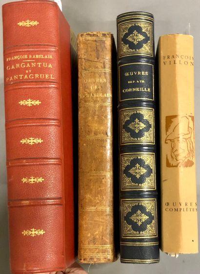 RABELAIS. Gargantua Pantagruel, édition d'Henri Clouzot, illustrations par Joseph...
