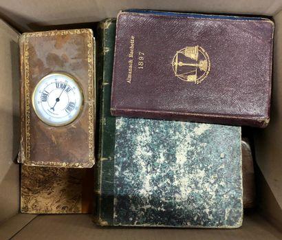 Lot de livres reliés, la plupart du XIXe...