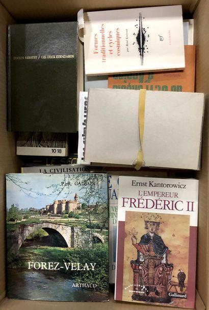 RELIGION, HISTOIRE, ESOTERISME, un carton d'éditions récentes.