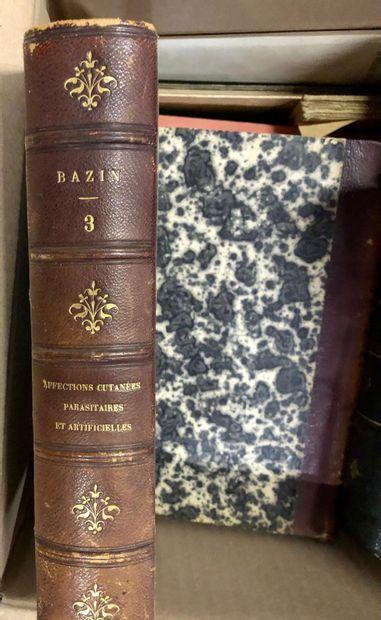 MEDECINE. Editions du XIXe siècle et du XXe siècle, dont les œuvres d'Hippocrat...