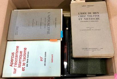 ESOTERISME, ouvrages récents.