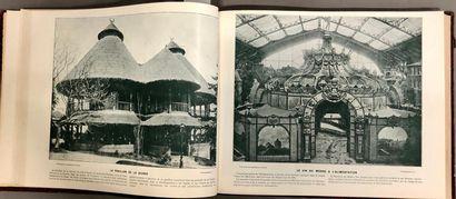 EXPOSITION 1900. Album de photographies à...
