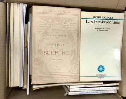 HISTOIRE, PHILOSOPHIE, ESOTERISME, LITERATURE,...