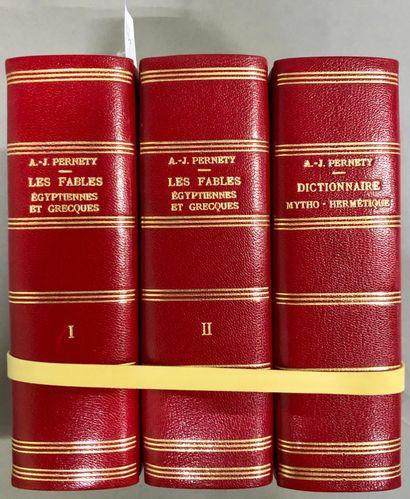 PERNETY, A. J. Les fables égyptiennes et...