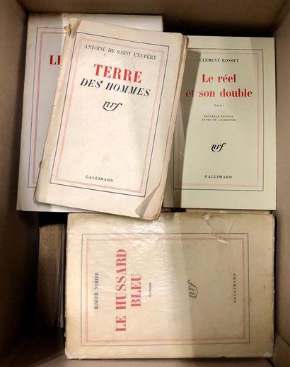 LITERATURE française du XXe siècle. Editions...