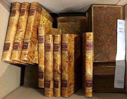 Un lot de livres anciens, la plupart dépareillés...