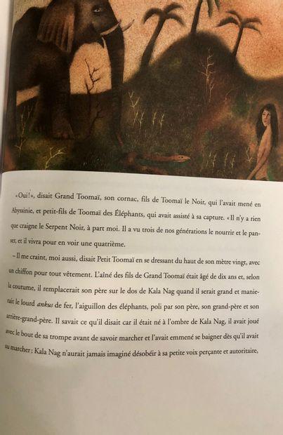 KIPLING, Rudyard. Le Livre de la jungle, illustrations de Adolf Born. In-4° 2007...