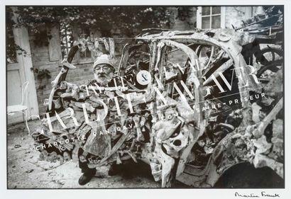 Martine FRANCK (1938-2012)  Portrait de l'artiste...
