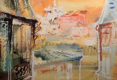 Pal SARKOZY (1929-)  et Werner HORNUNG (1948-) , 2004  Broken window at Montmartre...