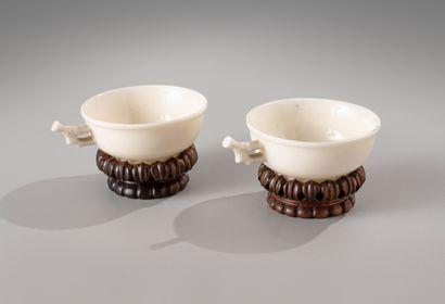 CHINE, période Kangxi, XVIIIe siècle  Paire...