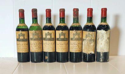 7 bouteilles  Château LEOVILLE LAS CASES...