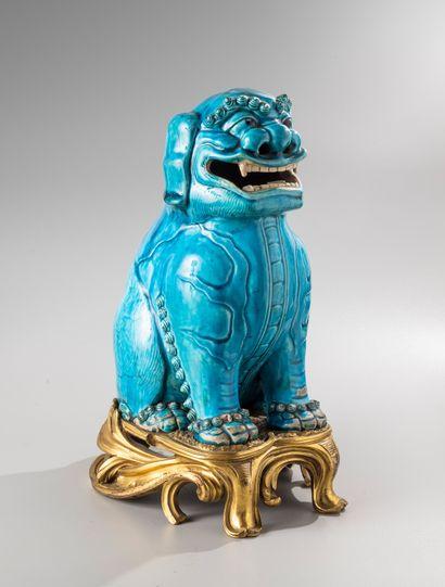 CHINE, XVIIIe siècle  Important sujet en...