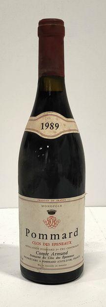 1 bouteille  POMMARD 1er Cru « Clos des Epeneaux...