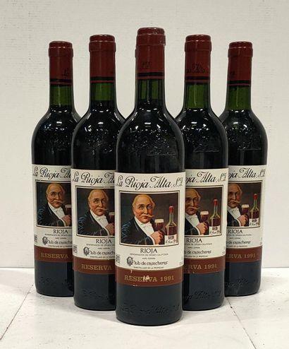 6 bouteilles  RIOJA Reserva - « La Rioja...
