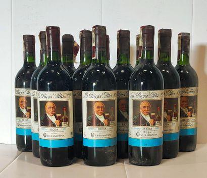 12 bouteilles  RIOJA Reserva - « La Rioja...