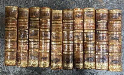 A. de MUSSET  Oeuvres complètes en 10 volumes...