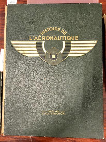 Histoire de l'aéronautique  Ouvrage in-4°...