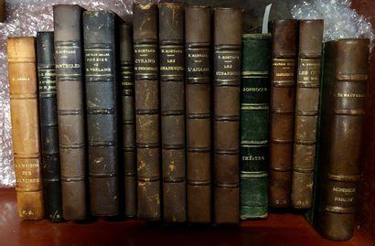 LITTERATURE FRANCAISE  Ensemble de livres...