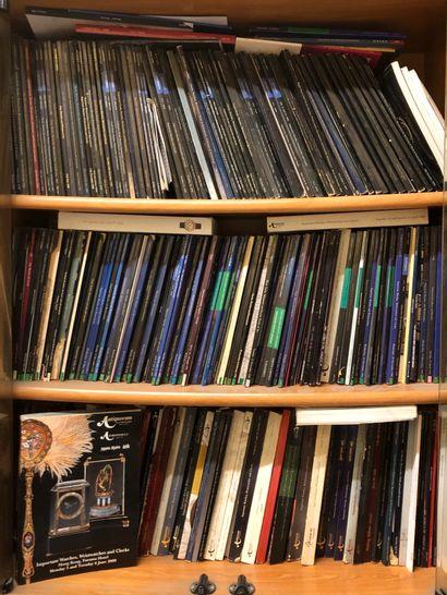 Important lot de catalogues de vente (Sotheby's...