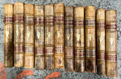 CABANES  Suite d'ouvrages de l'auteur dont...