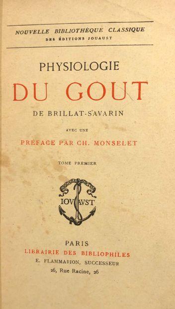 BRILLAT- SAVARIN Jean-Anthelme  Physiologie...