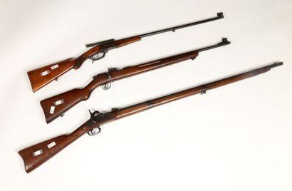 Fusil à percussion Springfield modèle 1861....
