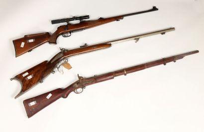 Fusil à percussion britannique pour l'export....