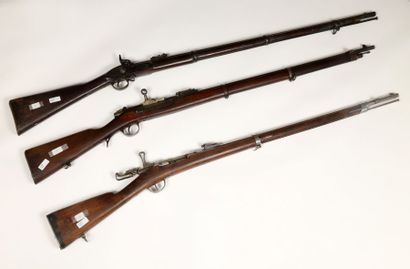 Fusil Kropatschek 1886, calibre 8 mm, affecté...