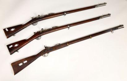 Fusil type Enfield à percussion, calibre...