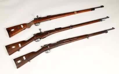 Fusil type Mauser 98. Canon marqué Dantzig...