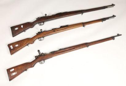 Fusil Mauser portugais modèle 1904 calibre...