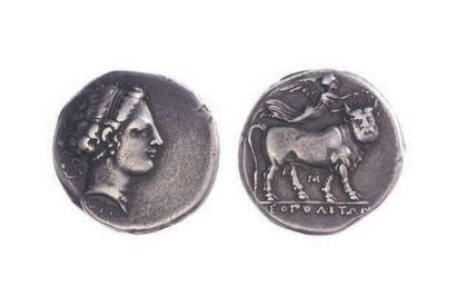 CAMPANIE, Néapolis (325-280). Statère (7,57...