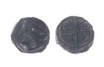 SICILE, Syracuse (vers 410 av.). Bronze (16...