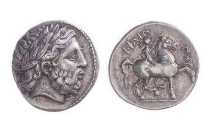 MACÉDOINE, Philippe II (359-336). Tétradrachme...