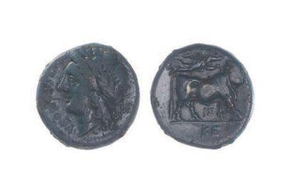 CAMPANIE, Néapolis (325-280). Bronze (20...