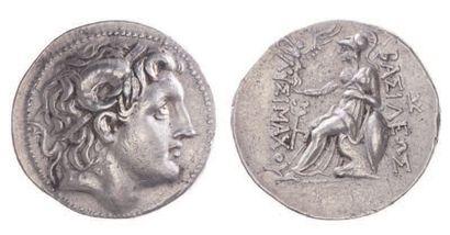 THRACE, Lysimaque (323-281). Tétradrachme...