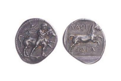 THESSALIE, Larissa (430-400). Drachme (5,78...