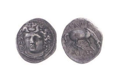 THESSALIE, Larissa (400-344). Drachme (5,79...