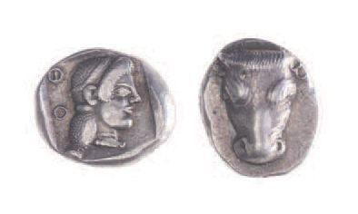 PHOCIDE, monnayage fédéral (avant 480). Hémidrachme...