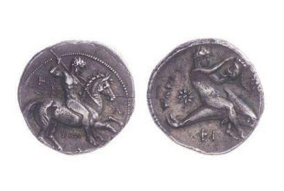 CALABRE, Tarente (344-334). Statère (7,95...