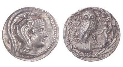 ATTIQUE, Athènes (149-139). Tétradrachme...