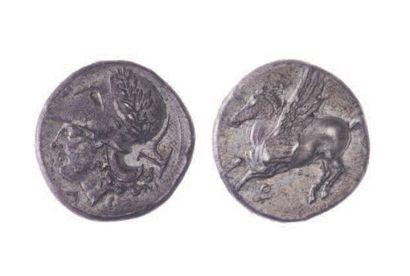 CORINTHE (400-350). Statère (8,43 g.) au...