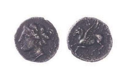 CORINTHE (400-350). Hémidrachme (1,69 g.)...