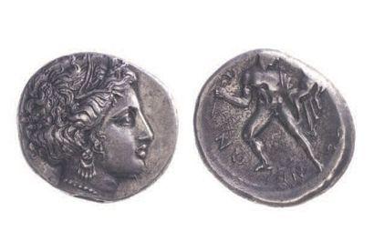ARCADIE, Pheneos (vers 365 av.). Statère...