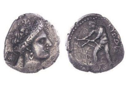 CRETE, Cydonia (400-360). Statère (11,09...