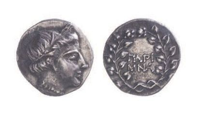 LES CYCLADES, Paros (300-100). Drachme (3,89...