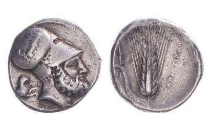 LUCANIE, Métaponte (350-330). Distatère (15,44...