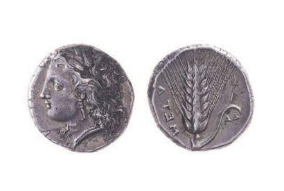 LUCANIE, Métaponte (350-330). Statère (7,86...