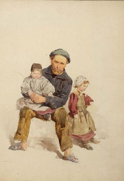 Attribué à Adolphe LALAUZE (1838-1905/06)